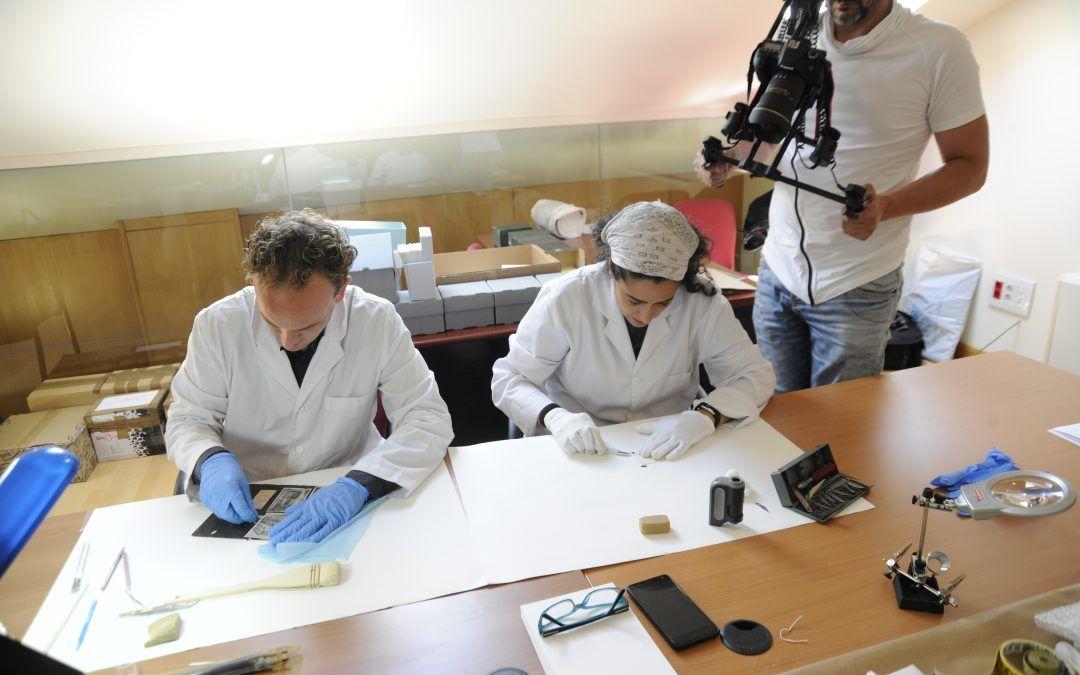 SYBARIA en el making-off de Fundación Anastasio de Gracia
